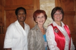 TMAA President Elect Doris Johnson, D'Anna Wick, TMAA President and SCMSA President Rhonda Reuter at September General