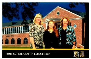 TJC Scholarship Donor Luncheon - Jean Harris, SCMSA President and Agnes Ward, Scholarship Committee Chairman with TJC re